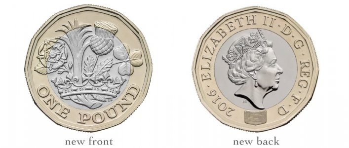 Use Your Pound Coins Before October!
