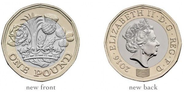 'Round Pound Coins' To Cease As Legal Tender To Make Way For The New £1 Coin