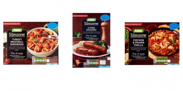 ASDA's New Slimming World Compatible Food Range: Slimzone