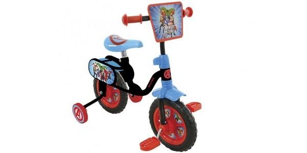 "Avengers Assemble 10"" Bike £17.50 (was £50) @ Tesco Direct"