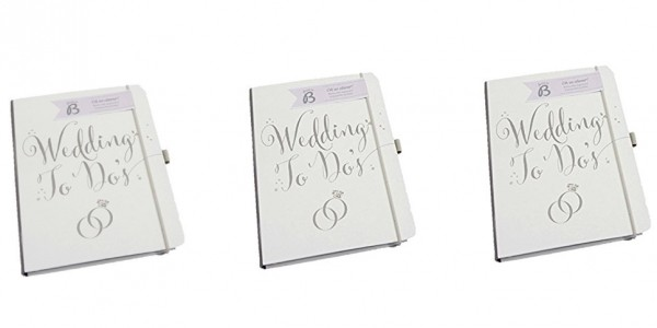 Busy B Bride to B A5 Wedding To Do Planner Book £8.97 Delivered @ Amazon Seller: Lifestylish