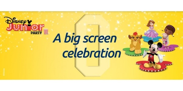 FREE Disney Junior Party @ Odeon Cinemas