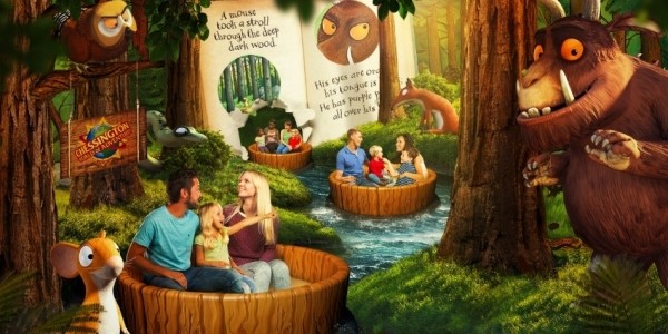 NEW Gruffalo River Ride & Gruffalo Themed Rooms Coming To Chessington