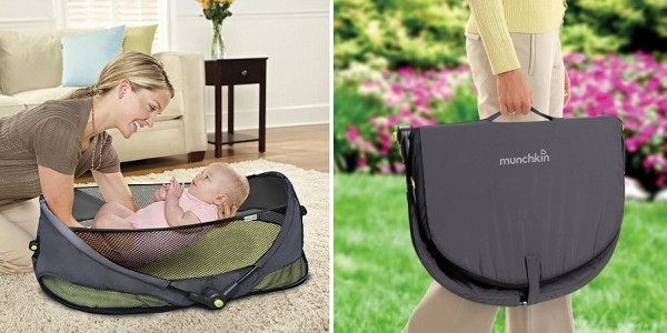 Munchkin Fold' N Go Travel Bassinet £25.97 @ Tesco Direct