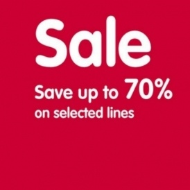 Heads Up: 70% Off Sale @ Boots