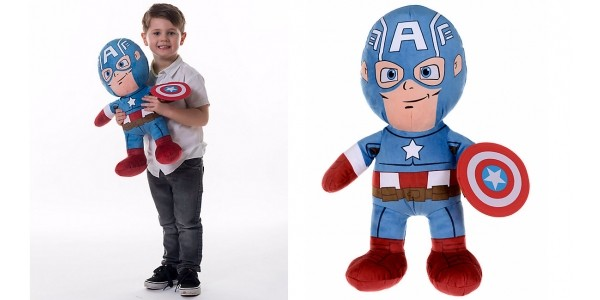 Marvel Captain America Large Plush Toy £7.99 (was £29.99) @ ELC / Mothercare