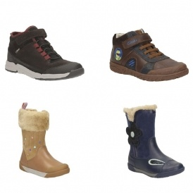 Up To 65% Off Children's Boots @ Clarks