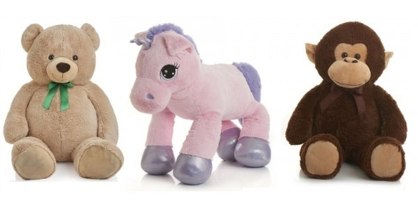 75% Off Selected Soft Toys @ Wilko