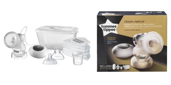 Tommee Tippee Closer To Nature Electric Breast Pump £34.99 Delivered @ Amazon