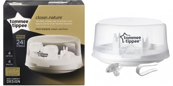Half Price Tommee Tippee Closer To Nature Microwave Steriliser @ Boots