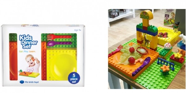 Placematix Kid's Tableware Set £7.99 Delivered @ Aldi