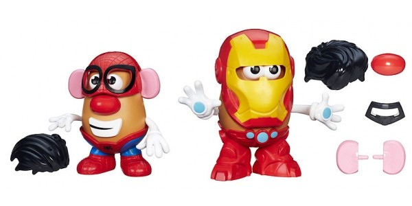 Spider-man or Iron Man Mr Potato Head £7.50 (was £15) @ The Entertainer