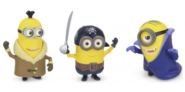 Minions Deluxe Action Figures £2.99 Each (was £14.99) @ Argos