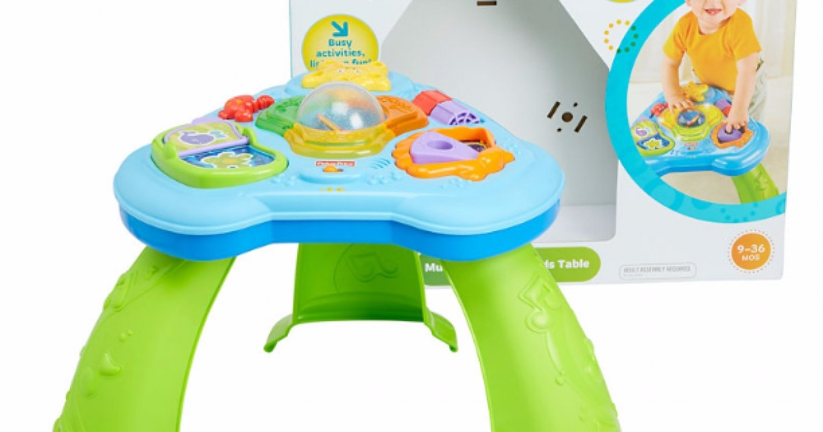 Fisher price musical ocean friends activity table was elc - Table activite fisher price ...