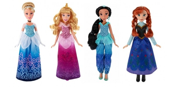 Buy One Get One Free On Selected Disney Princess & Frozen Dolls @ Smyths