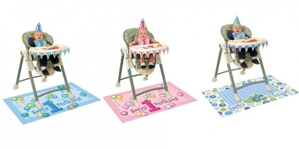 Baby 1st Birthday Highchair Decorating Kit From £2.12 Delivered @ Amazon