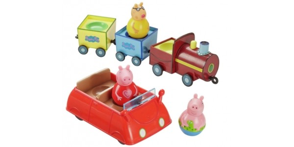 Peppa Pig Weebles & Vehicles Value Playset £12.99 @ Argos