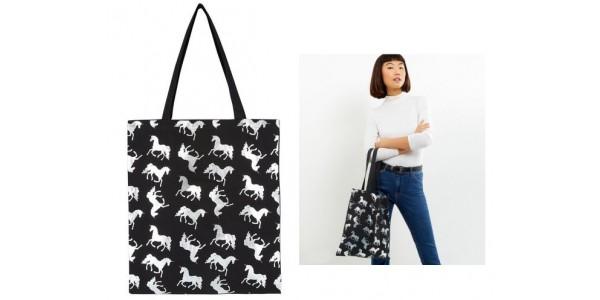 Unicorn Print Canvas Bag £2.99 @ New Look