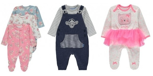 Spend £30 Save 20% On Baby Clothing @ Asda George