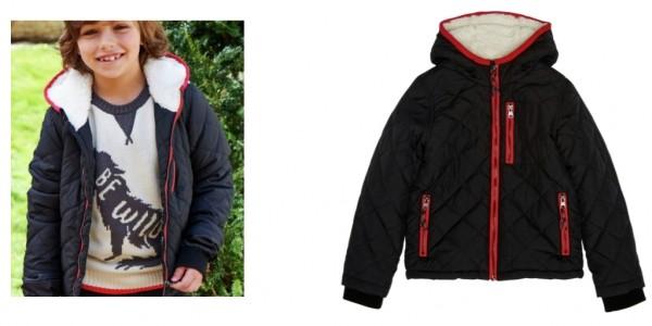 Cherokee Boys Quilted Coat Black £4 @ Argos