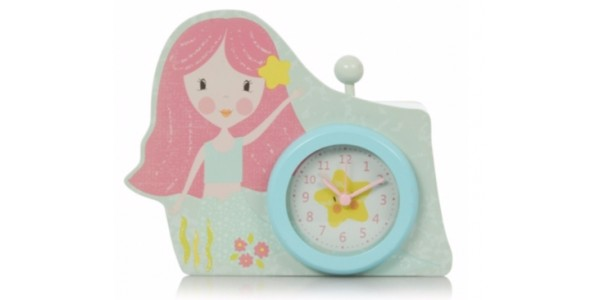 George Home Mermaid Alarm Clock £2.25 @ Asda George