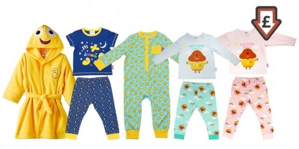 CBeebies & Hey Duggee Pyjamas & Nightwear From £3.99 @ Groupon
