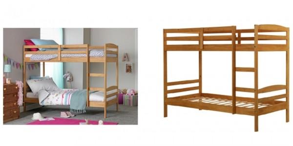 Josie Single Bunk Bed Frame £95.99 (+ £6.95 Del) @ Argos