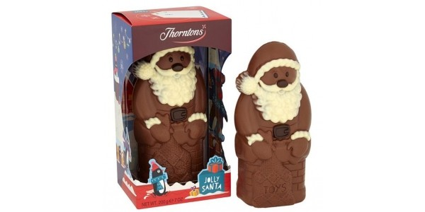 RECALL: Thorntons Chocolate Santas