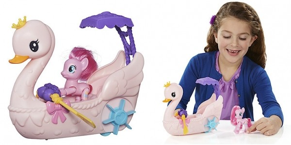 My Little Pony Pinkie Pie Row & Ride Swan Boat Set £10 Using Code @ The Entertainer