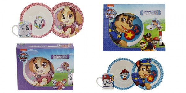 Paw Patrol Breakfast Set: Skye & Everest Breakfast Set £2.99 @ Home Bargains