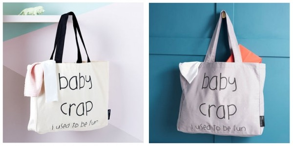25% Off 'Baby Crap... I Used To Be Fun' Tote Bag Now From £10.87 Delivered @ Not On The High Street