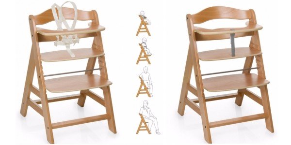 Hauck Alpha Wooden Highchair £35 @ Asda George
