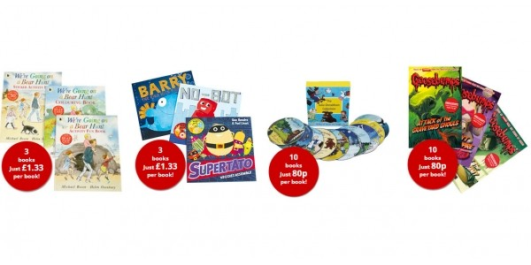 Flash Sale Now On: Book Sets From £4 @ The Book People