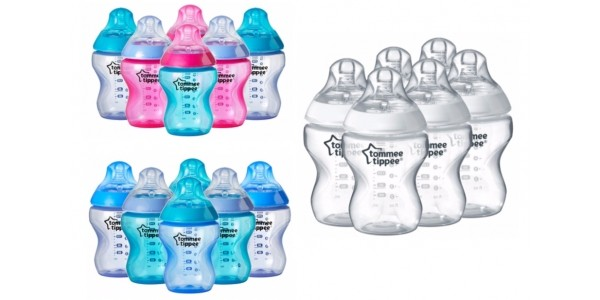 Tommee Tippee Closer To Nature 260ml Bottles 6 Pack £9 @ Asda George