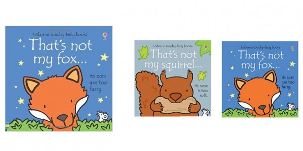 That's Not My Fox & Squirrel Pack £4.99 @ Early Learning Centre