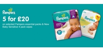 5-for-gbp-20-on-pampers-essential-pack-nappies-wipes-boots-170334