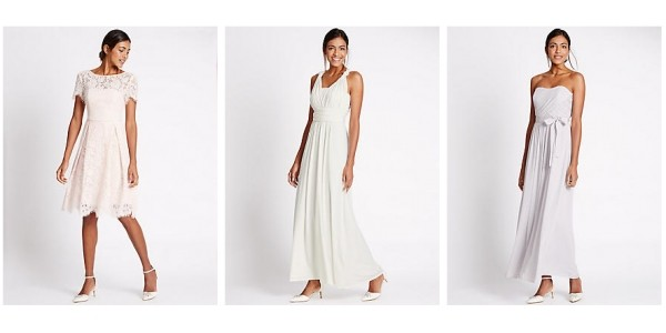 New In Bridesmaid Dresses @ Marks and Spencer
