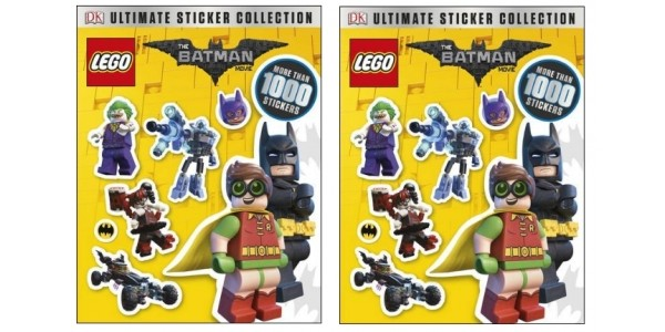 The LEGO Batman Movie Ultimate Sticker Collection £3.50 (was £7.99) With FREE Delivery @ Tesco Direct