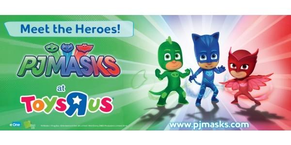 Meet PJ Masks @ Toys R Us