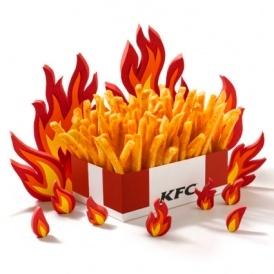 New Zinger Fries - 99p For Large Box @ KFC