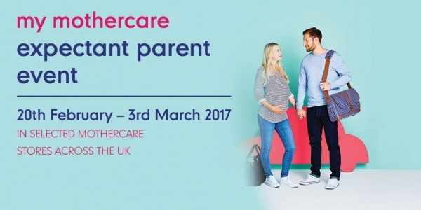 FREE Expectant Parent Events Now Booking @ Mothercare