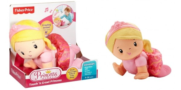 Half Price Fisher Price Princess Mommy Touch 'n Crawl Princess (Using Code) @ The Entertainer