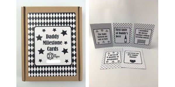 Daddy Milestone Cards £8.99 @ Amazon