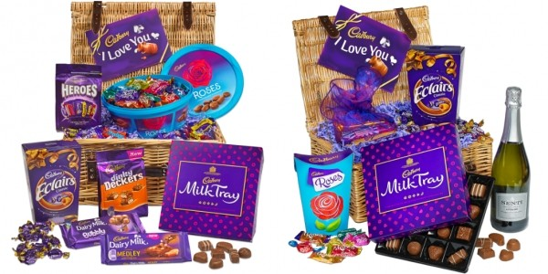 10% Off Valentine Gifts Using Code @ Cadbury Gifts Direct