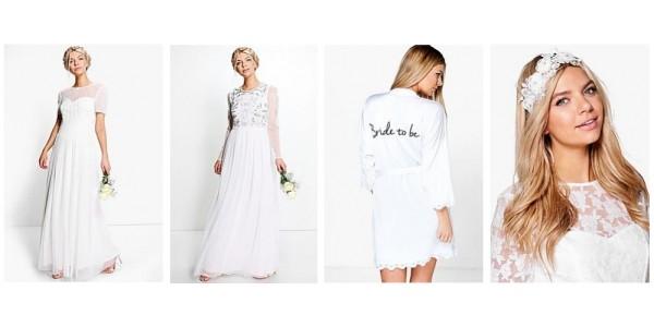 Bridal Range Now Available @ Boohoo