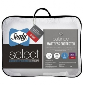 sealy select balance mattress protector single 8 was. Black Bedroom Furniture Sets. Home Design Ideas