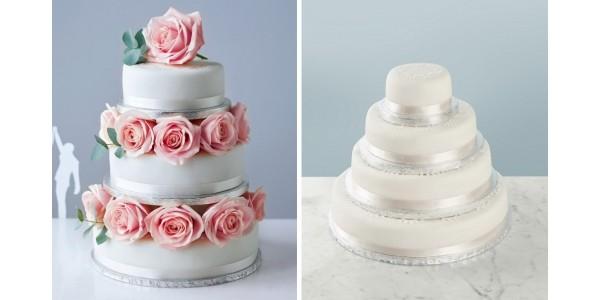 3-Tier Sponge Wedding Cake Just £54 @ Marks and Spencer