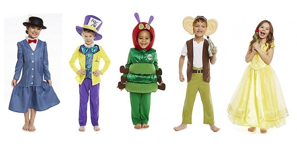 World Book Day: New Fancy Dress Costumes Available @ Tesco Direct