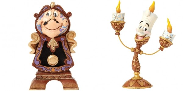 Disney Beauty And The Beast Figurines Reduced @ Very