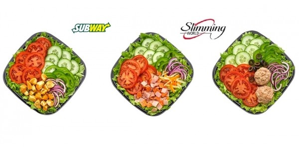 20% Off Salad Bowls For Slimming World Members @ Subway